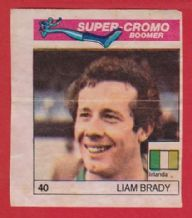 Eire Liam Brady West Ham United